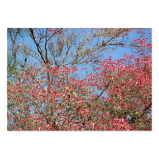 Pink Dogwood Tangle Pack Of Chubby Business Cards