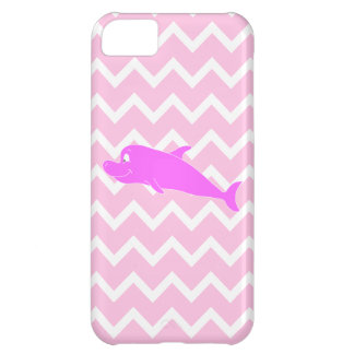 Pink Dolphin. Case For iPhone 5C