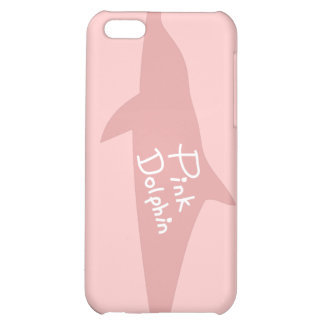 Pink Dolphin iPhone 5C Covers