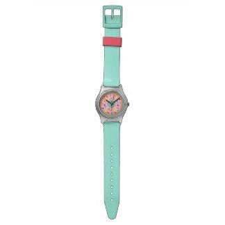 Pink donut watch