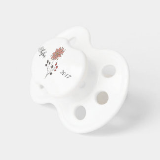 Pink doodle daisy flower dummy