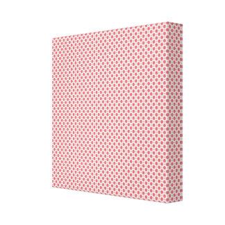 Pink Dots Canvas Prints
