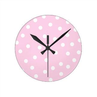 Pink Dots Clock