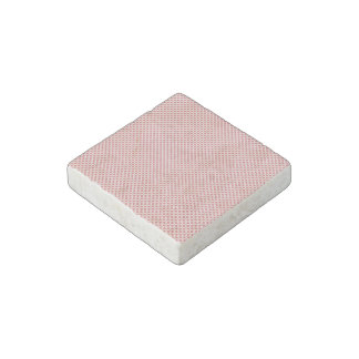 Pink Dots Stone Magnet