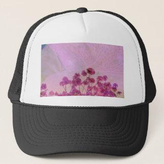 Pink Double Exposure Trucker Hat