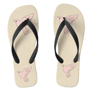 Pink Doves Thongs