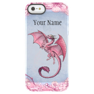 Pink Dragon of Spring Nature Fantasy Art Permafrost® iPhone SE/5/5s Case