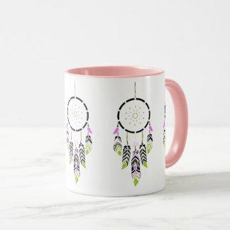 Pink Dreamcatcher Coffee Mug