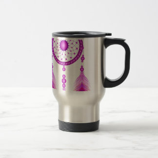Pink Dreamcatcher Travel Mug