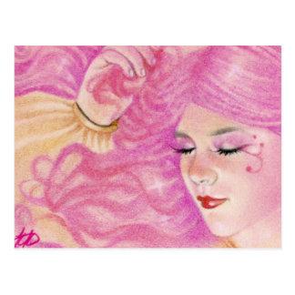 Pink Dreams BCA ART Postcard