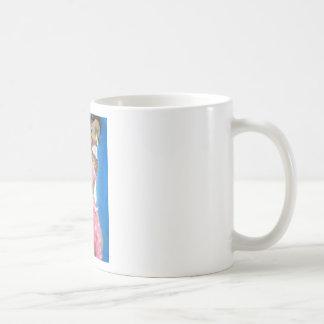 pink dress mug