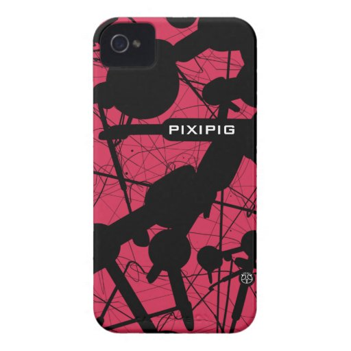Pink Drop Abstract Blackberry Bold Case