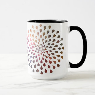 Pink Drops of Sparkles Mug