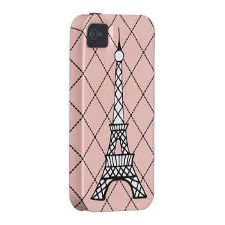 Pink Eiffel Tower iPhone 4 Case-Mate Vibe iPhone 4 Case