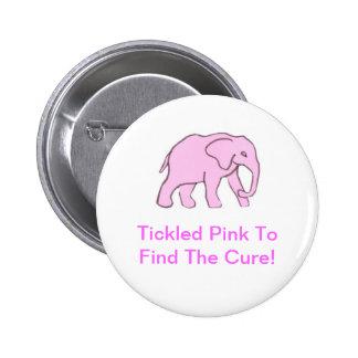 Pink Elephant Pin