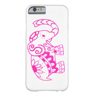Pink Elephant Barely There iPhone 6 Case