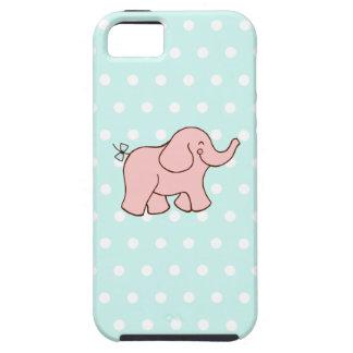 Pink Elephant iPhone 5 Case