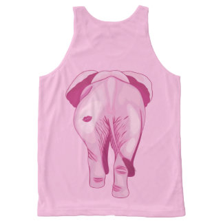 Pink Elephant SWAK All-Over Print Singlet