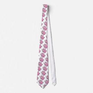 Pink Elephant Tie