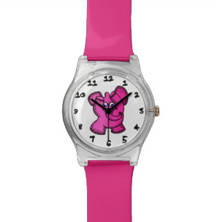 Pink Elephant Wristwatch