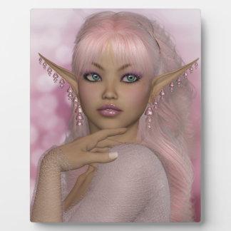Pink Elf Plaque