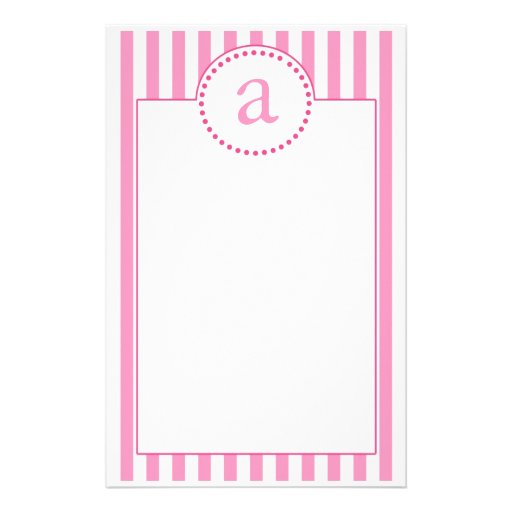Pink (Emmy's Collection) Personalized Stationery