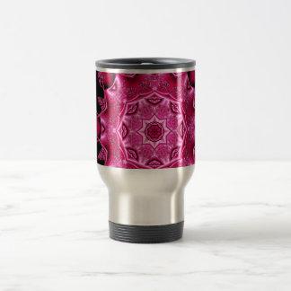 Pink enamel fibula mugs