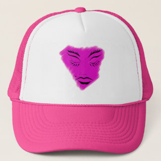 PINK FACE BALL CAP FOR GIRL