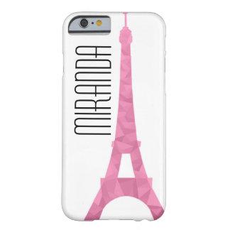 Pink Facet Eiffel Case