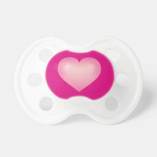 Pink fade heart dummy