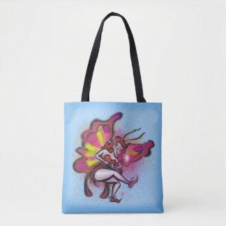 Pink Faerie Tote Bag