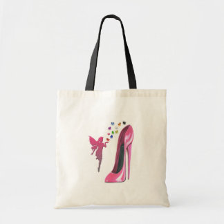 Pink Fairy Hearts and Stiletto Shoe Art