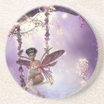 Pink Fairy Swing Coaster