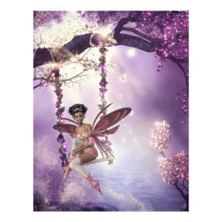 Pink Fairy Swing Flyer