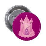 Pink Fairytale Castle Buttons