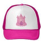 Pink Fairytale Castle Mesh Hats