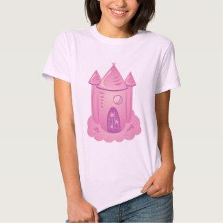 Pink Fairytale Castle Tee Shirt