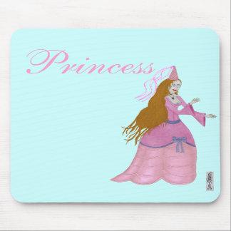 Pink Fairytale Princess Mousemat Mousepads