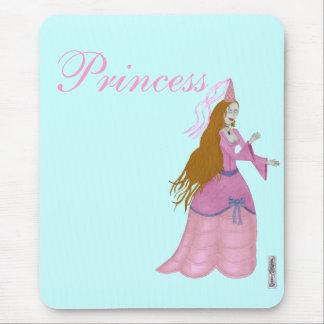 Pink Fairytale Princess Mousemat