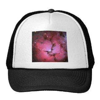 pink fantasy cosmos trucker hats