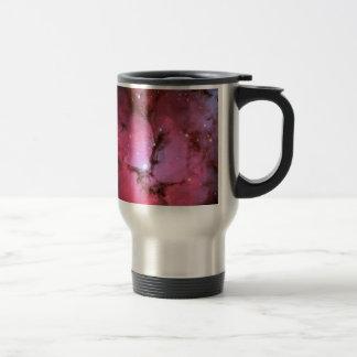 pink fantasy cosmos coffee mugs