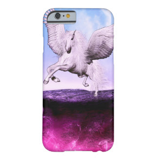 Pink Fantasy Unicorn Barely There iPhone 6 Case