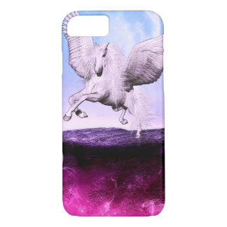 Pink Fantasy Unicorn iPhone 7 Case