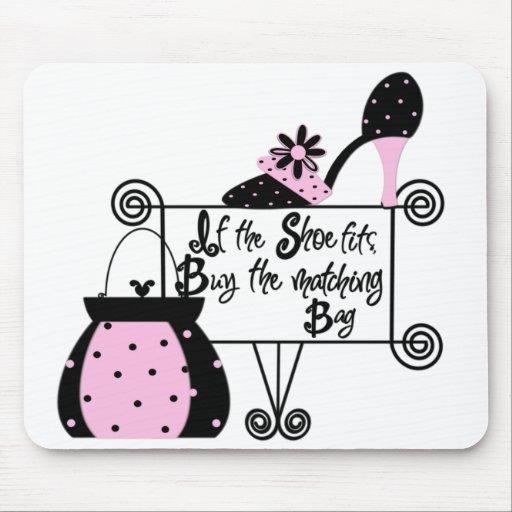 Pink Fashion Mousepad