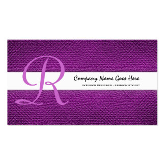 Pink fashion stylist seamstress tailor business cards