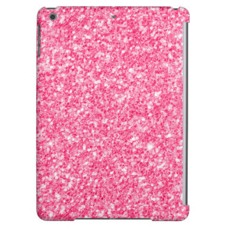Pink faux glitter and sparkles