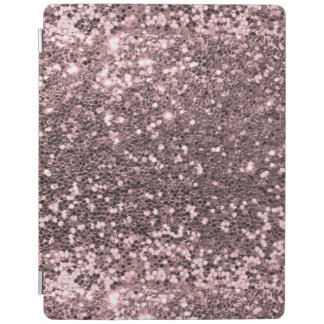 Pink Faux Glitter Sparkle iPad Cover