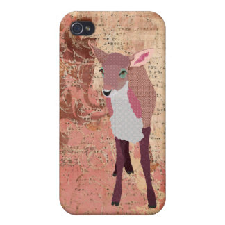 Pink Fawn  iPhone Case iPhone 4/4S Cases
