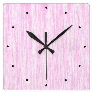 Pink Fiber Clock