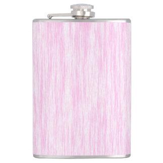 Pink Fiber Hip Flask